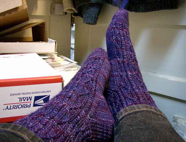 PurpleWPsocks