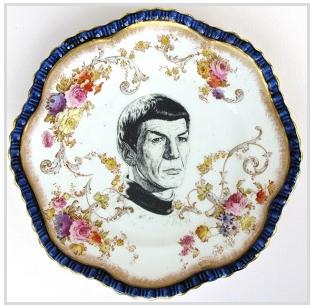 SpockAntiquePlate