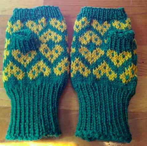 Mitts done