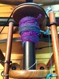Spun batts