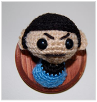 SpockMountedHead