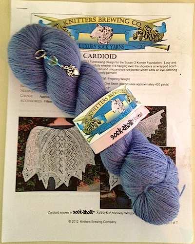 Cardioid Shawl kit