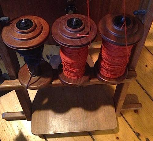 Orange done spinning