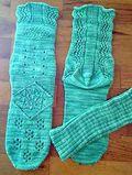April Showers socks