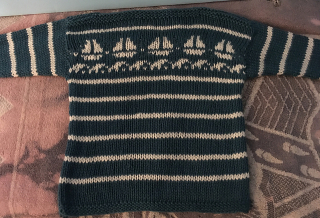 Pirate ship sweater