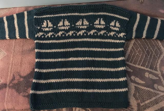 Pirate boat sweater