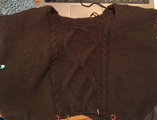 2d08d688364e I started this sweater back in June