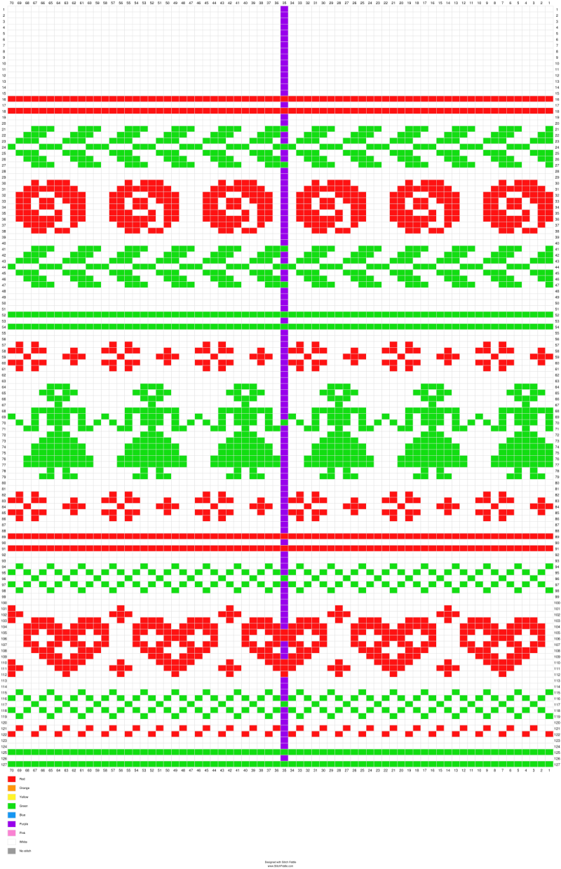 Christmas Stocking - Stitch Fiddle