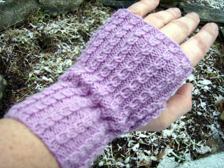 Baby Cables Mitts