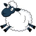 Sheep Cartoon Clipart 14